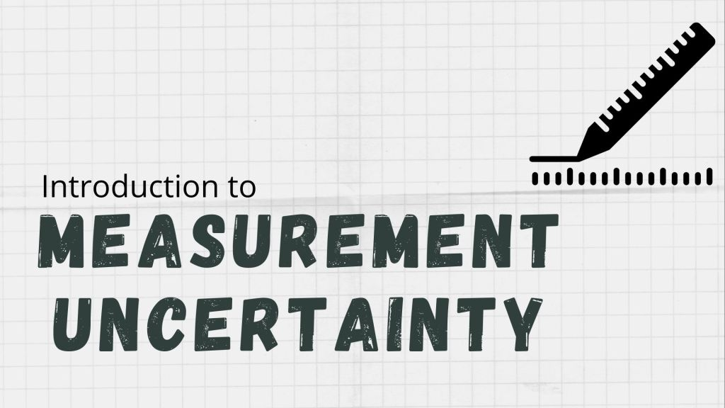 uncertainty measurement course